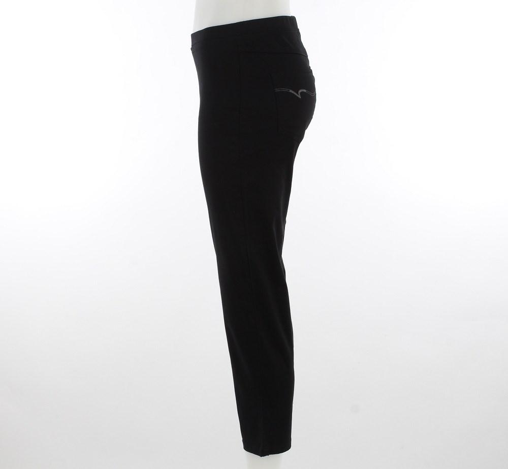 Vassalli Pull On 7/8 Lightweight Legging - black