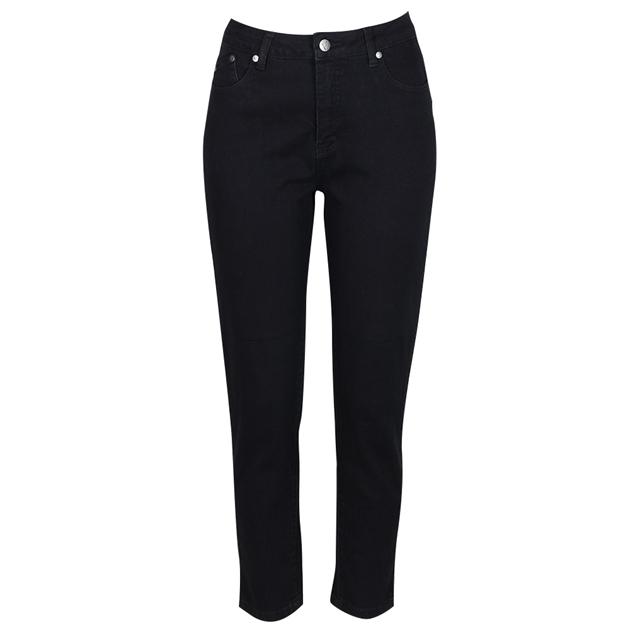 Vassalli Skinny Ankle Grazer Jean - black