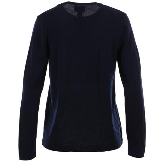 Royal Merino Plain Long Sleeve Button Cardigan