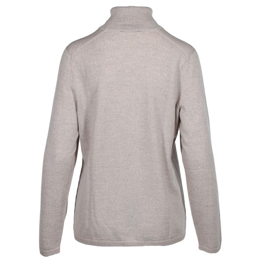 Royal Merino Slightly Shaped Long Sleeve Polo Neck