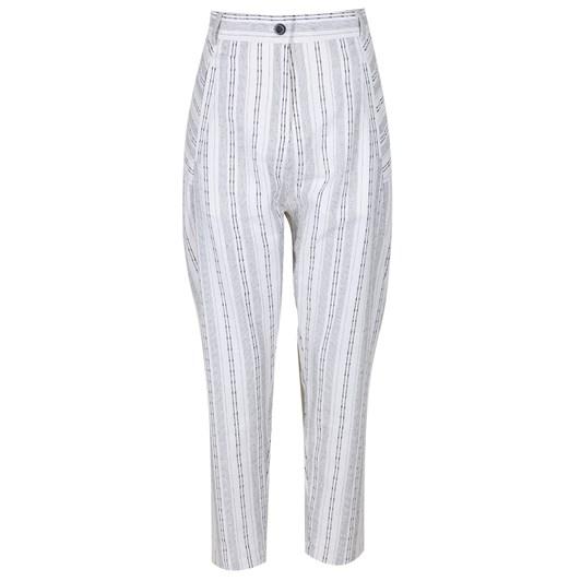 Sabatini Drop Crotch Pants Linen Blend