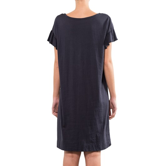 Marshall Ruffle Sleeve T Shirt Dress