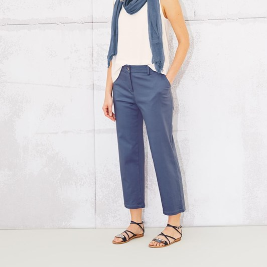 Adini Caitlyn Trousers Solid Stretch Satin