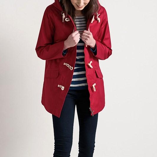 Seasalt Long Seafolly Jacket Redcurrant