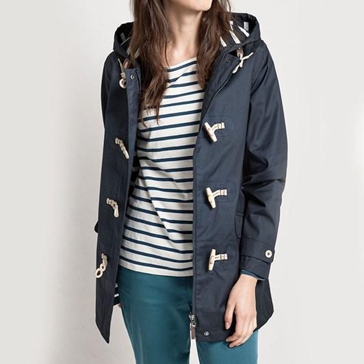Seasalt Long Seafolly Jacket Fathom