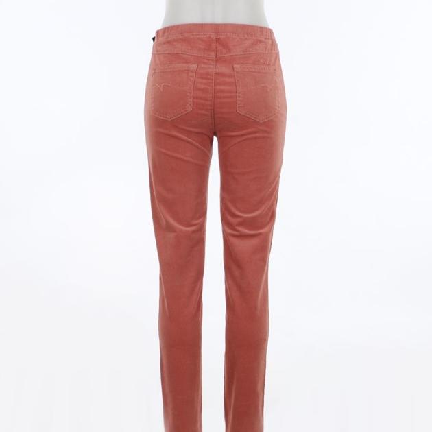 Vassalli Skinny Leg Cord Pull On - rouge