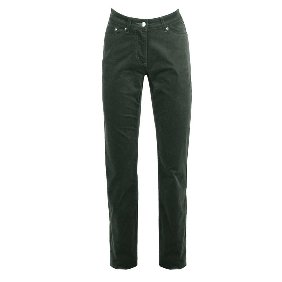 PJ Jeans Slim Leg Royal Cord 5 Pocket Jean - khaki