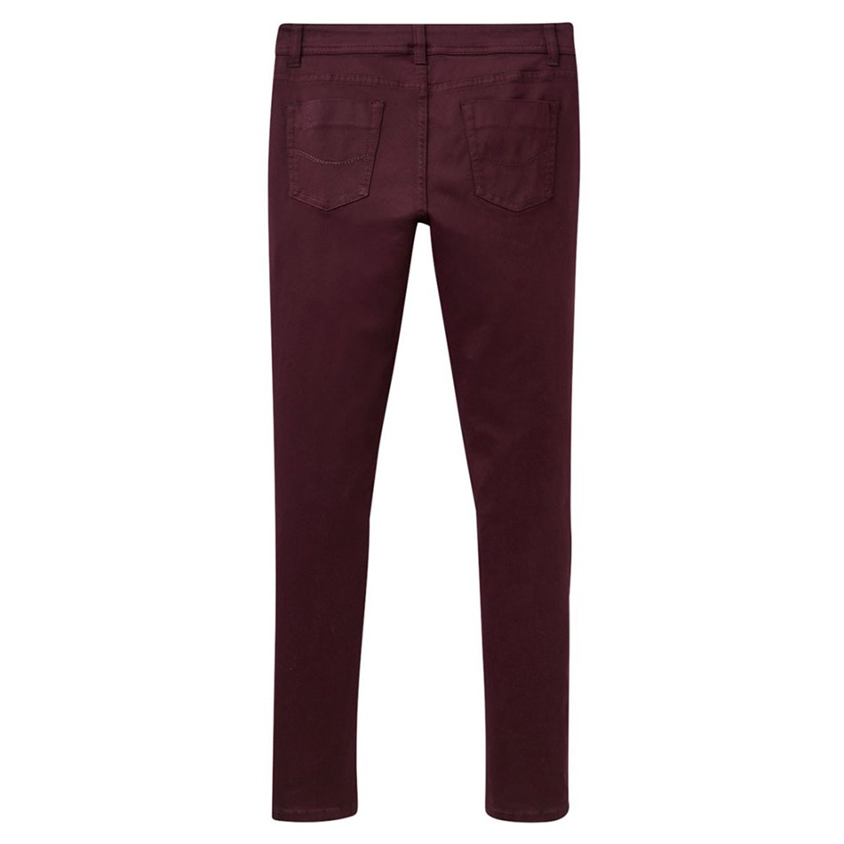 Joules Skinny Stretch Jean - brgundy