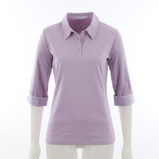 B Essentials Polo Contrast Collar And Cuff