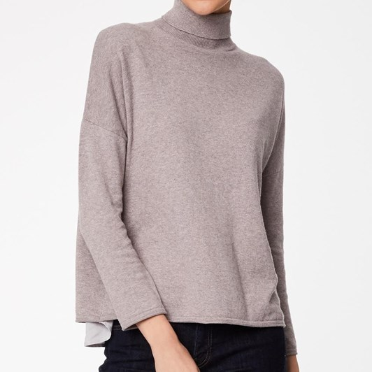 Thought James Place Knit Rollneck Top