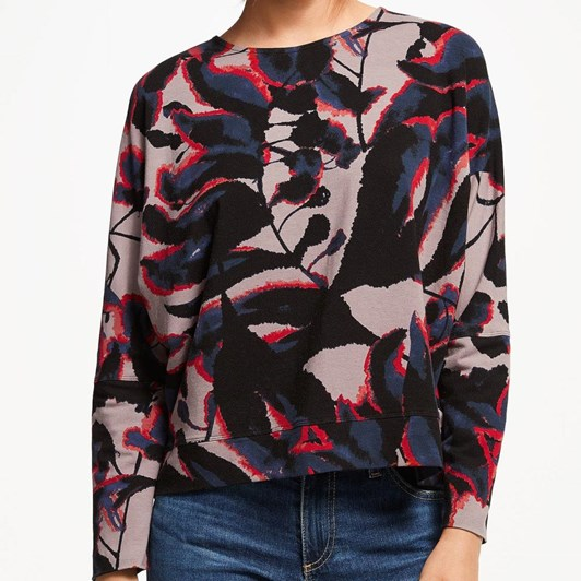 Thought Shadow Leaf Top
