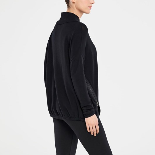 Sarah Pacini Side Zip Easy Mock