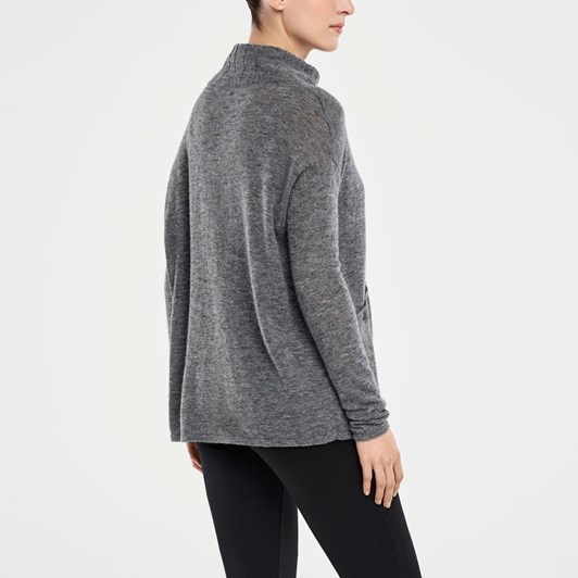 Sarah Pacini Mock Turtle W Pockets