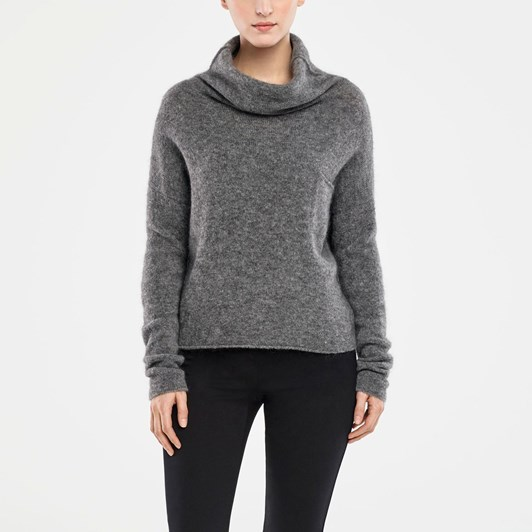 Sarah Pacini Mock Turtle W Pocket