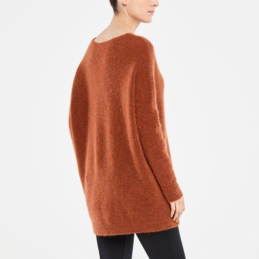 Sarah Pacini Long Sweater V Neck
