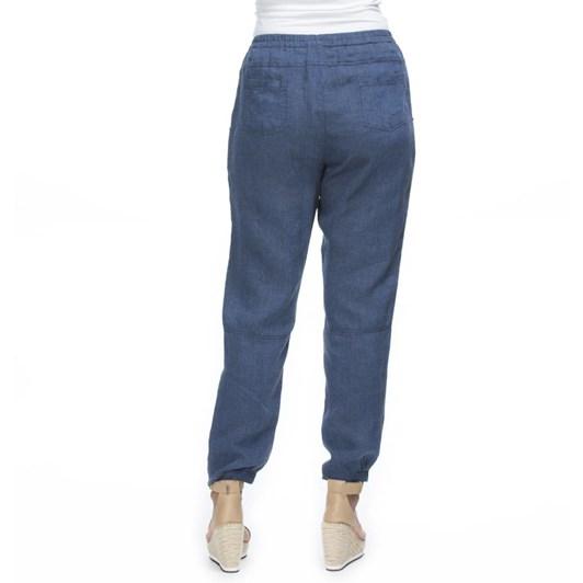 Hammock & Vine Gathered Hem Linen Pants