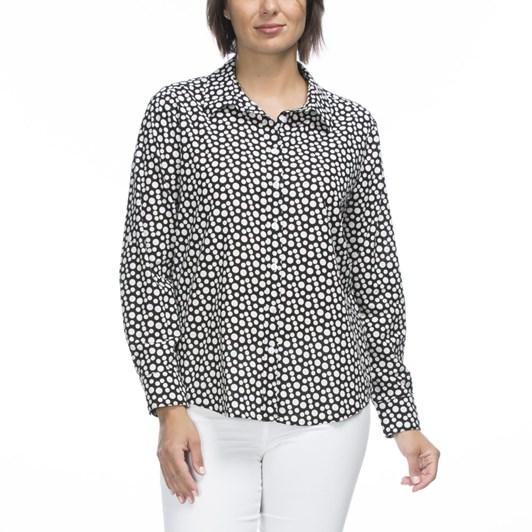 Gordon Smith Dot Linen Shirt