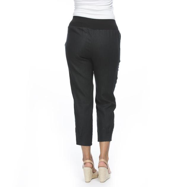 Gordon Smith Jersey Waist Linen Pant -