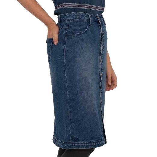 8fc654b019d5 Skirts & Shorts - Brakeburn Long Denim Skirt - Ballantynes ...