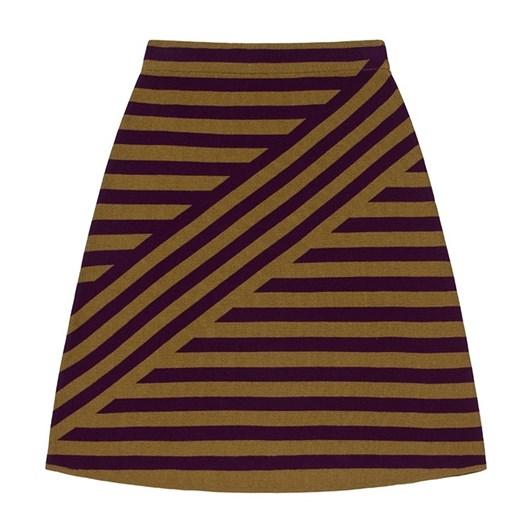 Emreco Striped Jacquard Skirt
