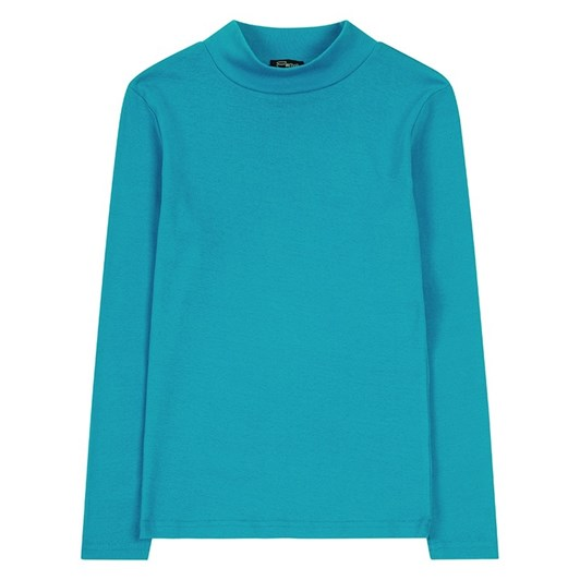 Emreco 100% Cotton Rib Rosie Turtle Neck Top