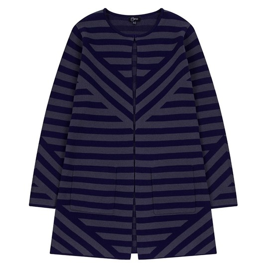 Emreco Striped Jaquard Jacket