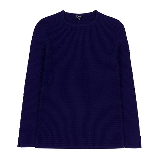 Emreco Round Neck Basket Stitch Sweater