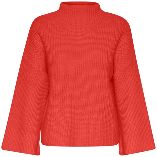 Inwear Floy Pullover - 10846 fiery red
