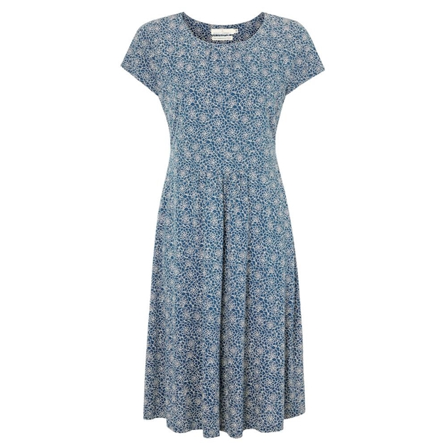 Seasalt Carnmoggas Dress Terrarium Night - navy004061