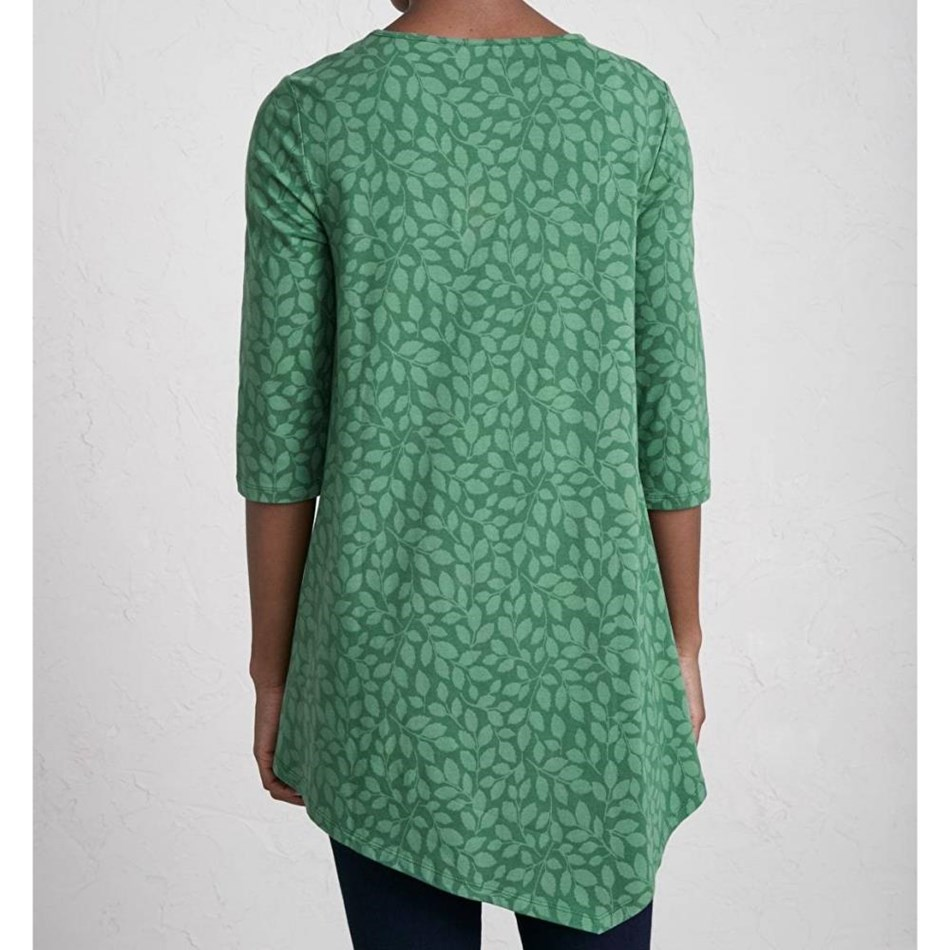 Seasalt Nansidwell Tunic Leaf Shadow Dark Forage -