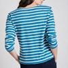 Seasalt Sailor Shirt Breton Dark Paddle Ecru -