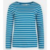Seasalt Sailor Shirt Breton Dark Paddle Ecru - blue004387