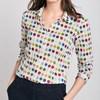 Seasalt Larissa Shirt Natural Dye Test Ecru - mult004029