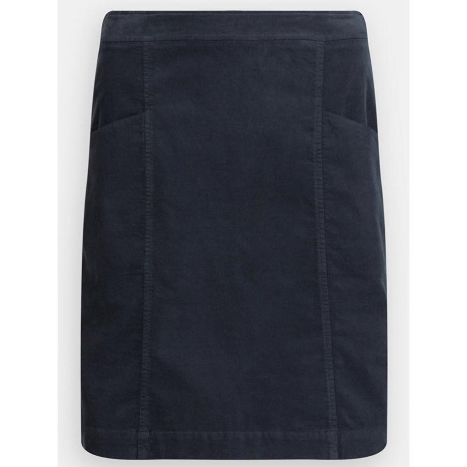 Seasalt Wave Worn Skirt Fathom - navy001148