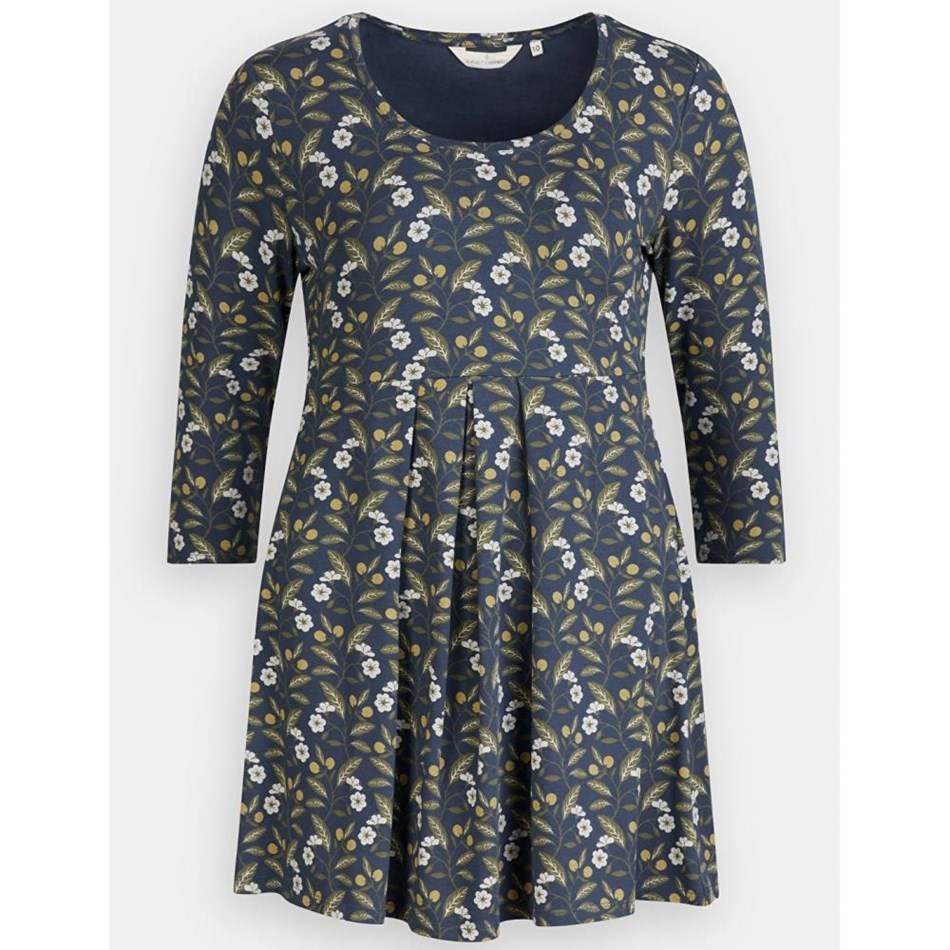 Seasalt Broach Spire Tunic Wild Plum Night - navy004068
