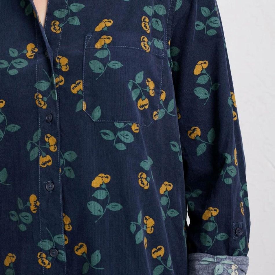 Seasalt Emma Shirt Winter Stem Night - navy004580