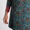 Seasalt Nansidwell Tunic Book Cover Floral Dark Lake - gree003945
