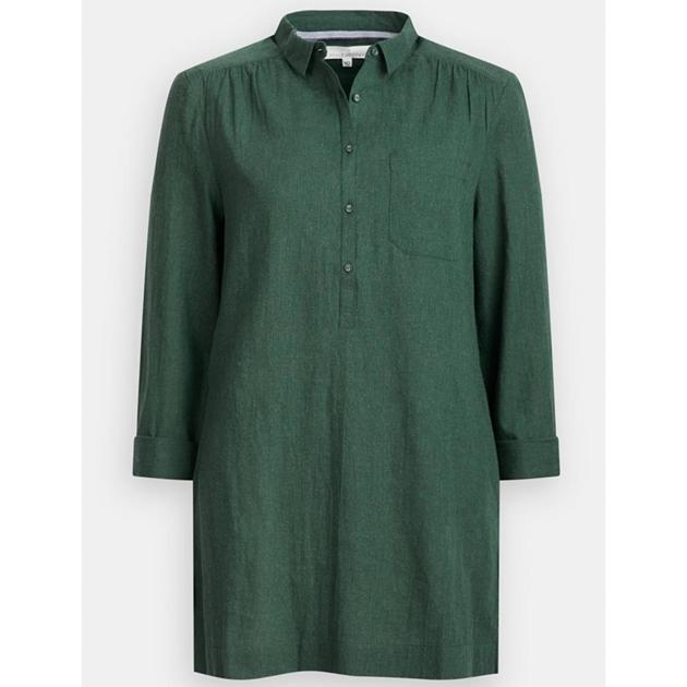 Seasalt Kemyel Shirt Coppice Melange - gree003912