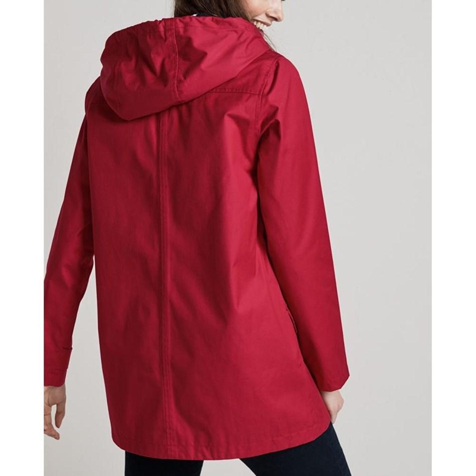 Seasalt Long Seafolly Jacket Redcurrant -