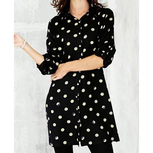 Adini Tina Shirt Solar Spot Print