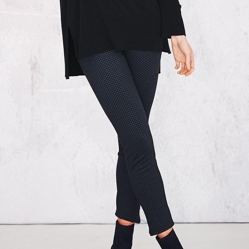 Adini Louisa Stretch Trousers Todi Spot -