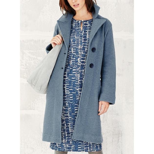 Adini Claudia Coat Ferrara Wool Knit -