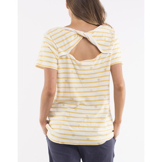Elm Super Twist Back Tee