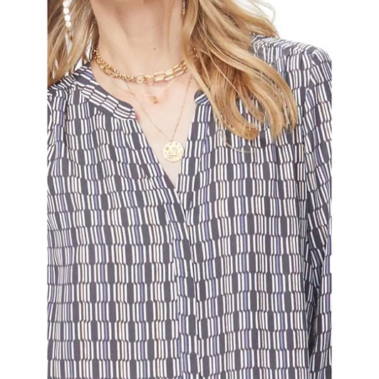Not Your Daughters Jeans Pintuck Blouse
