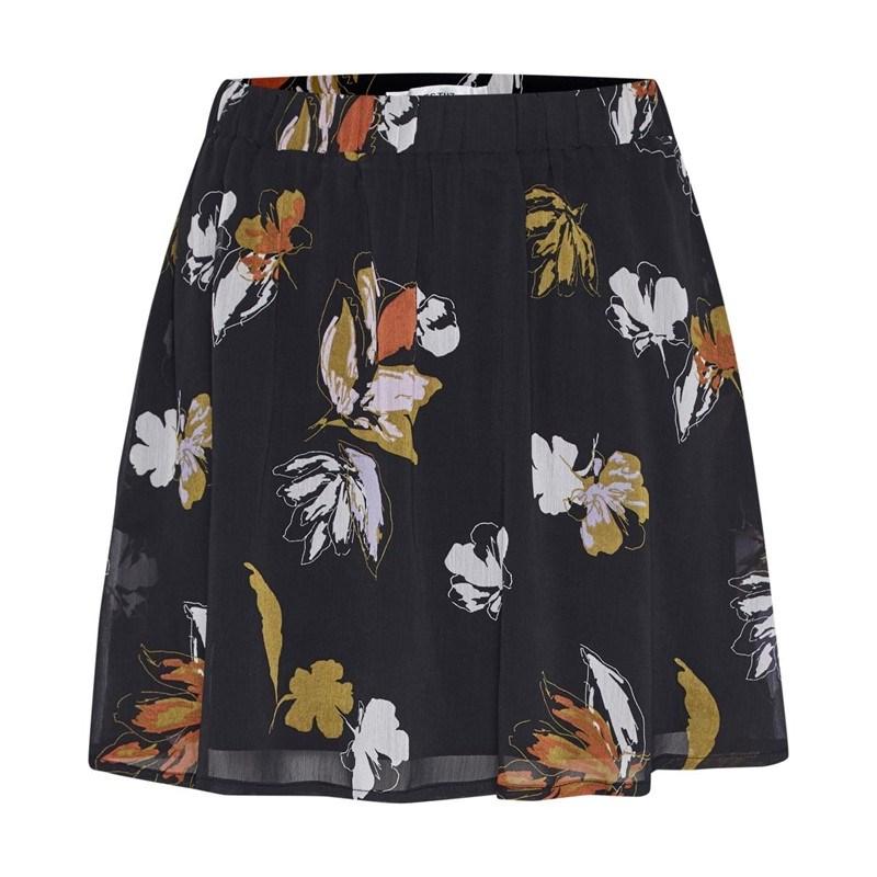 Gestuz Amali Skirt - 90361 blk flower