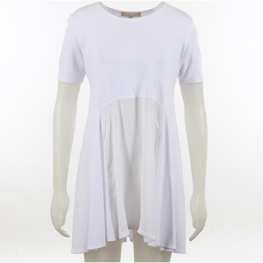 Paula Ryan Swing Back Ss Top
