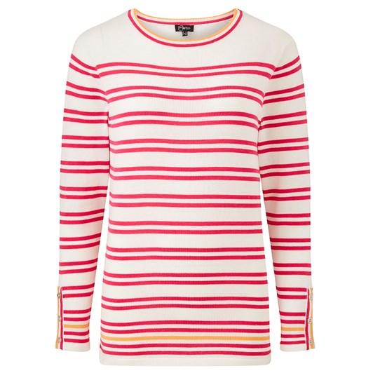 Emreco Lupton Long Sleeve Stripe Top