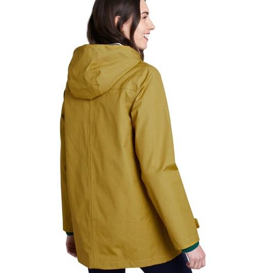 Seasalt Long Seafolly Jacket Pear