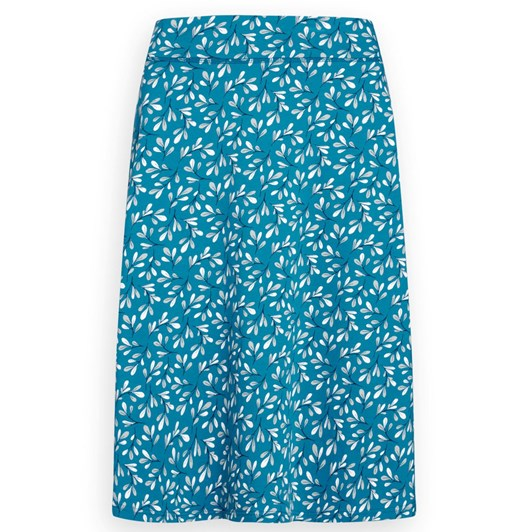 Seasalt Jessica Grace Skirt Tossed Seaweed Dark Briney