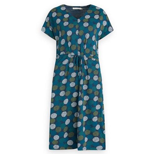 Seasalt Field Poppy Dress Dotty Spots Light Squid